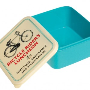Bicycle Rider's Lunch Box