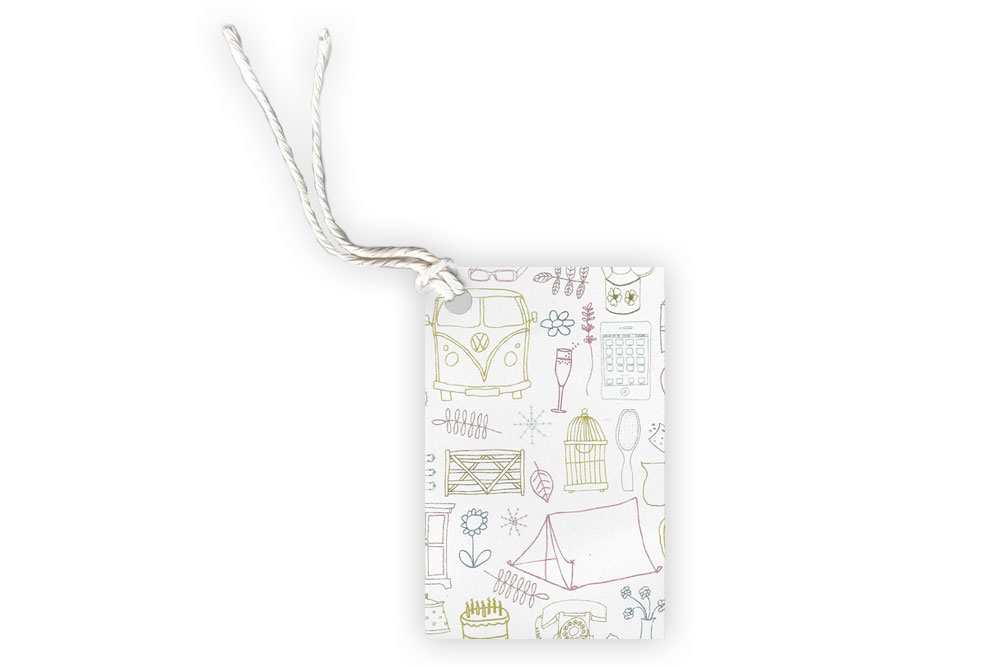 Colour Touring Gift Tag