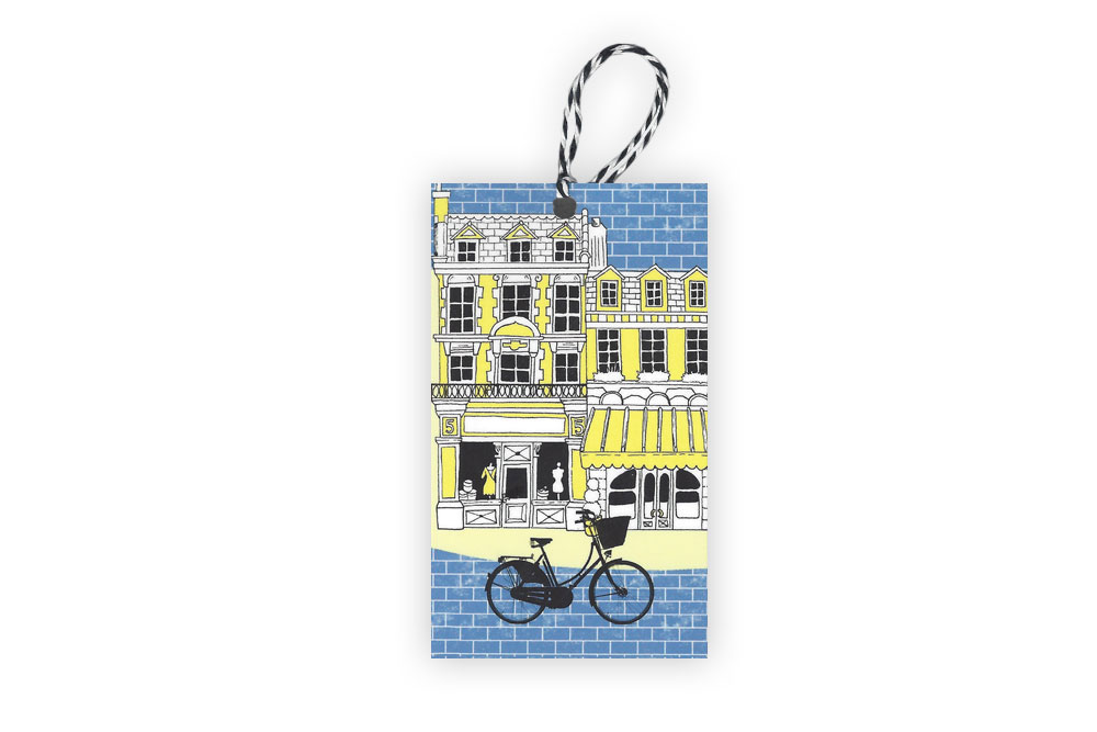 Bluebrick Gift Tag