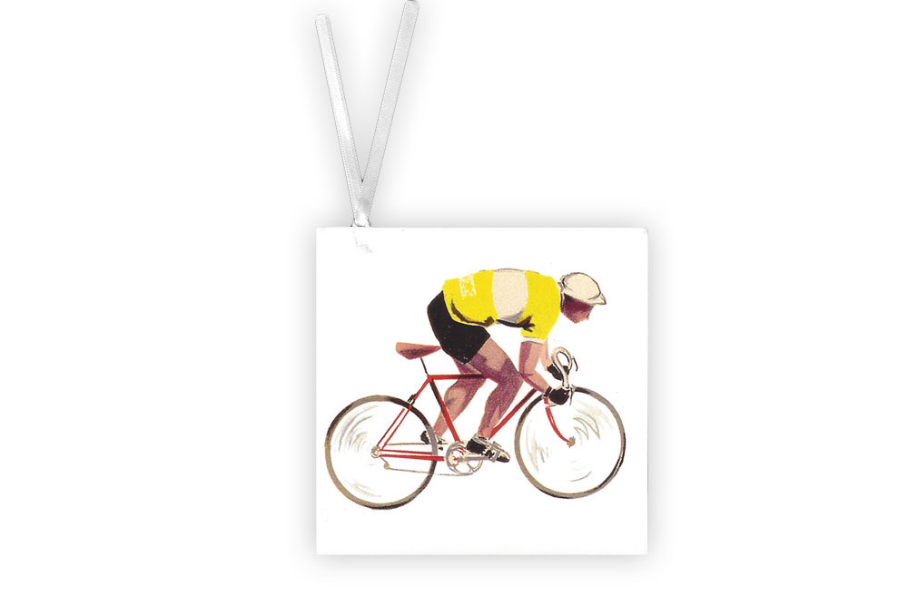 Racing Bicycle Gift Tag