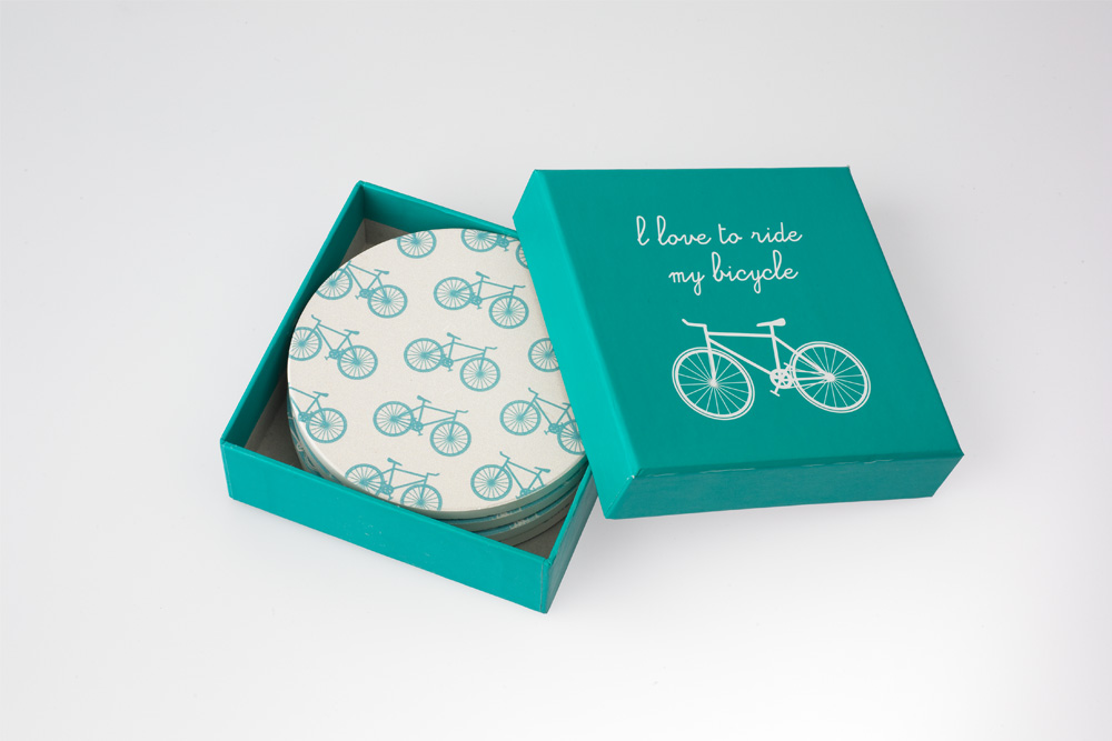 Bicycle Drinks Coasters