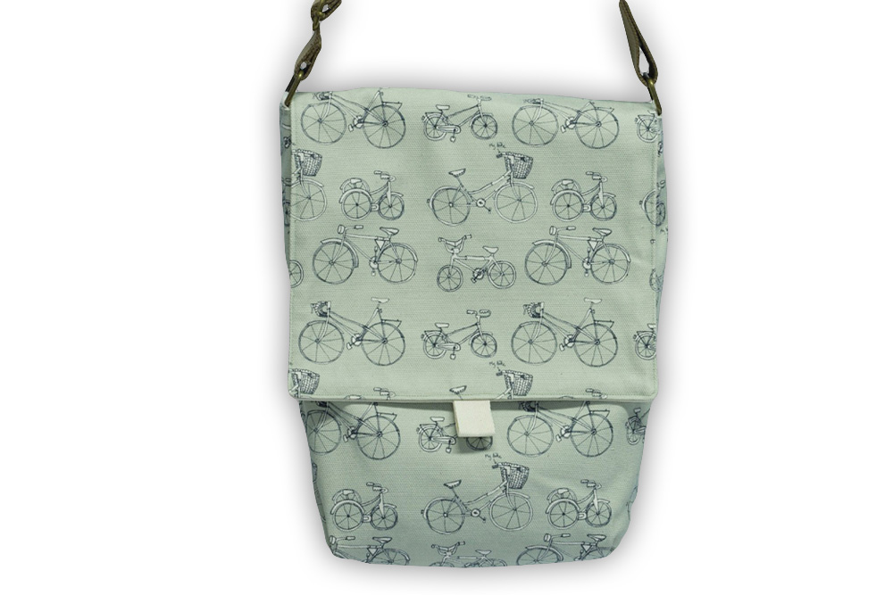 Poppy Treffry Bicycle Messenger Bag