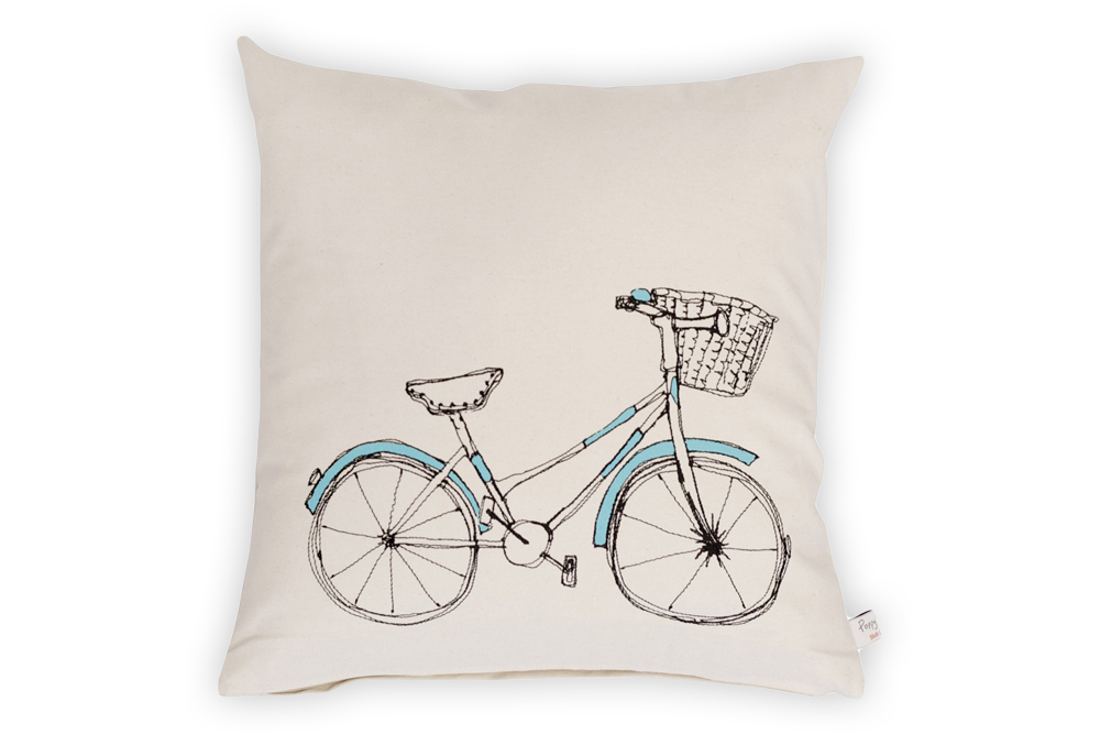 Poppy Treffry Bicycle Cushion