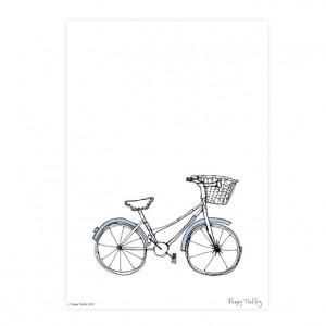 Poppy Treffry Women's Bicycle Print