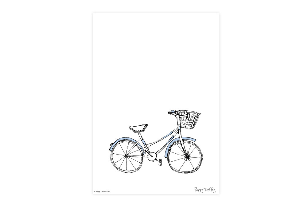 Poppy Treffry Women's Bicycle Print