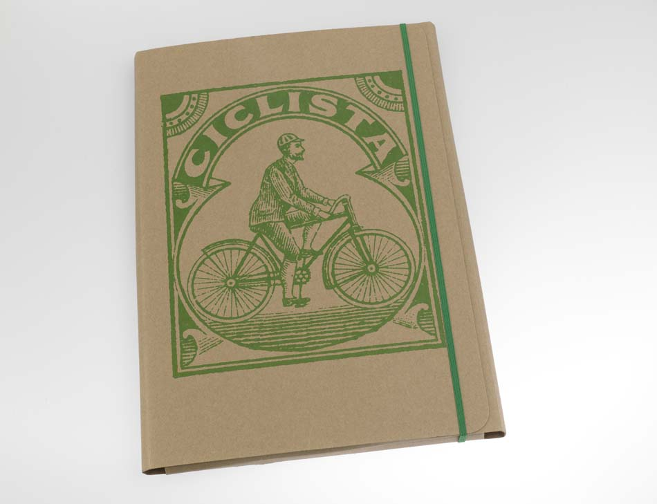 A4 Bicycle Document Folder