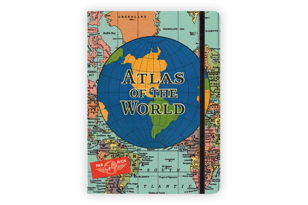 Atlas of the World Travel Journal