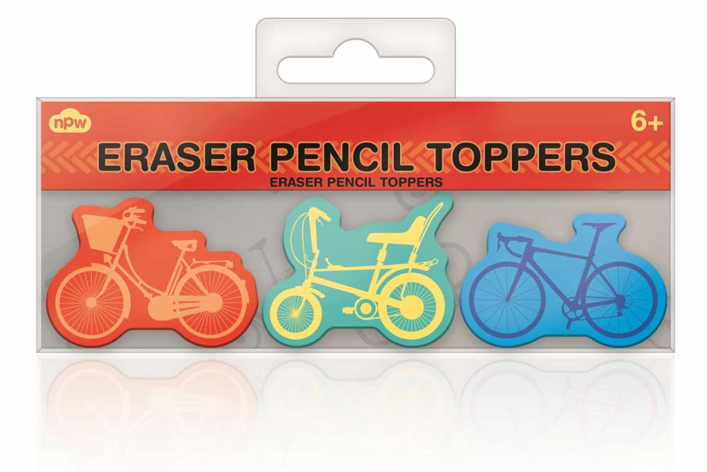 Bicycle Pencil Toppers