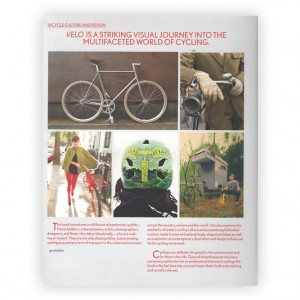 Velo Bicycle Culture and Design
