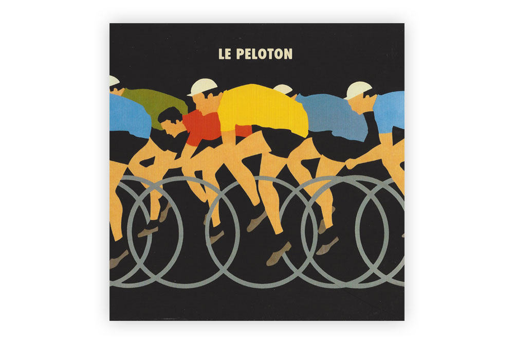 The Race Bicycle Greeting Card