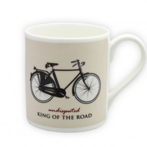 King of the Road Bicycle Mug