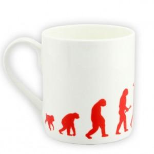 Evolution Bicycle Mug