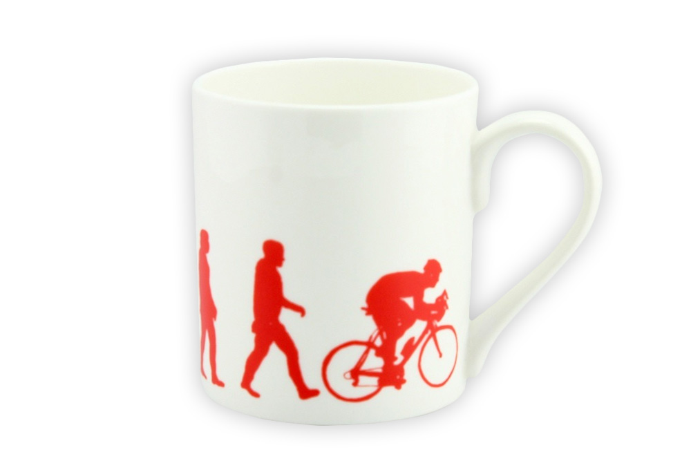 Evolution Bicycle Mug