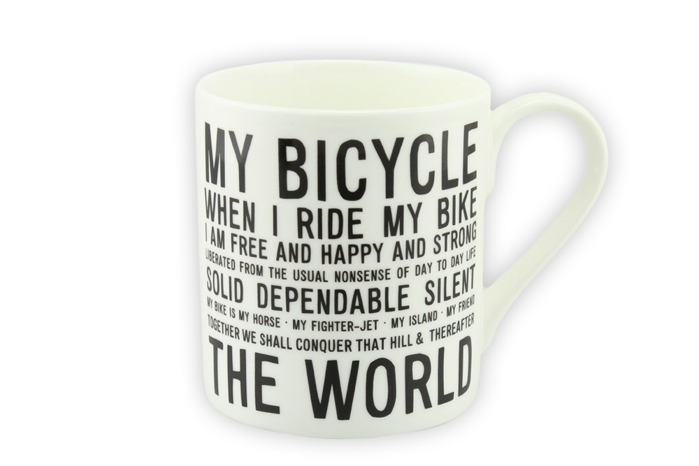 Manifesto Bicycle Mug