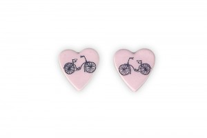 ceramic-heart-bicycle-earrings