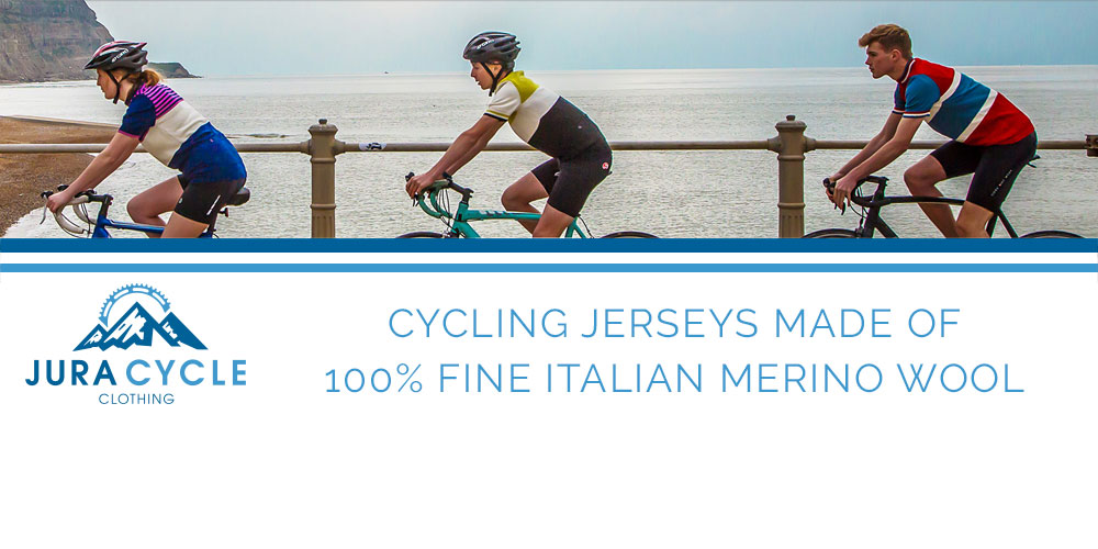 Jura Cycle Clothing - Merino Wool Jerseys