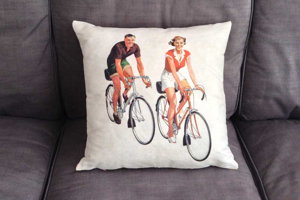CycleMiles Vintage Bicycle Cushion
