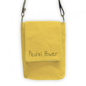 Pedal Power Bicycle Mini Messenger Bag