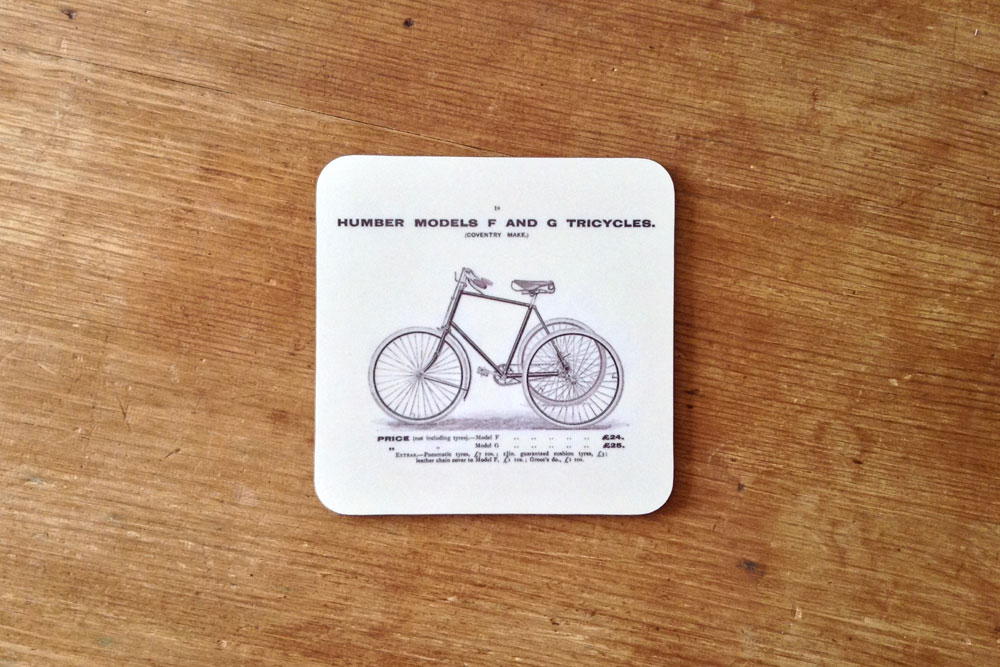 CycleMiles Humber Model F and G Tricycle Coaster