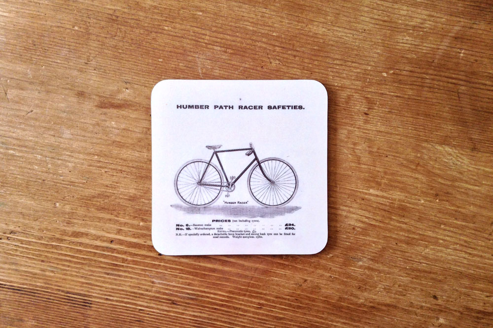 CycleMiles – Humber Path Racer Bicycle Coaster