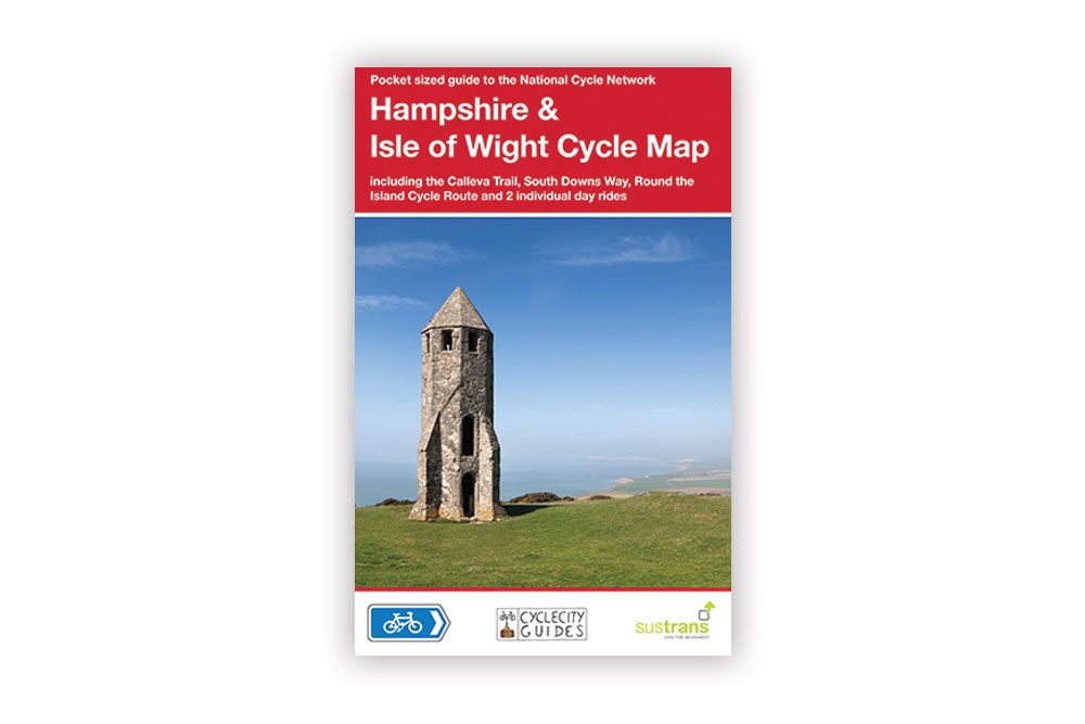 Hampshire and Isle of Wight Cycle Map