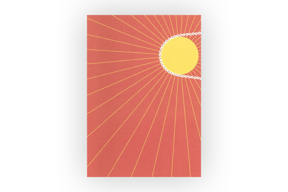 Every Day is New Bicycle Greeting Card – Rebecca J Kaye