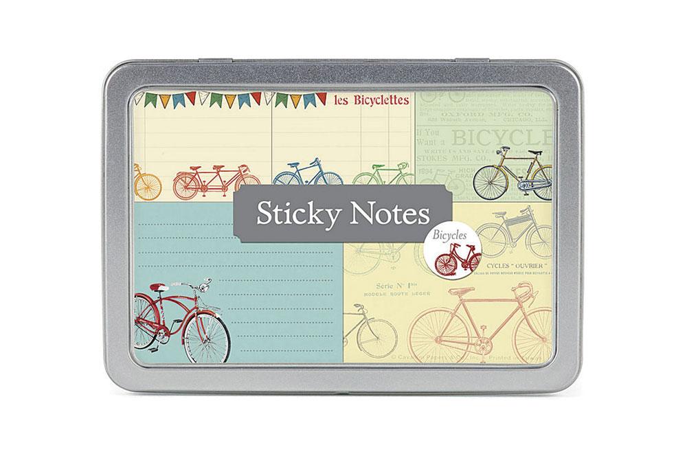 Vintage Bicycle Sticky Note Set