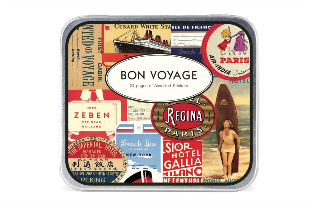 Bon Voyage Stickers