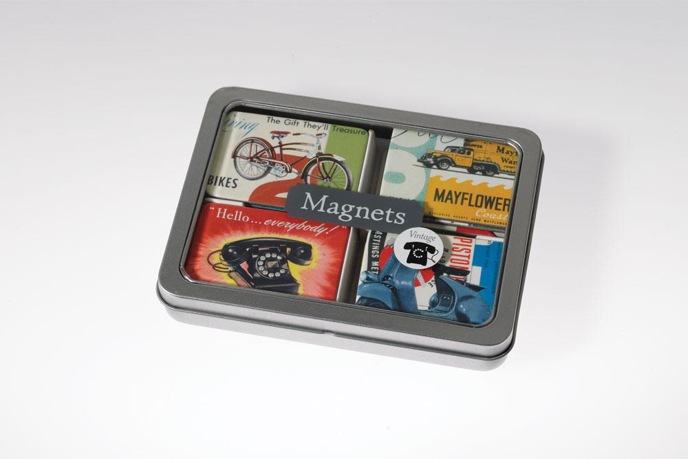 Retro Vintage Magnets