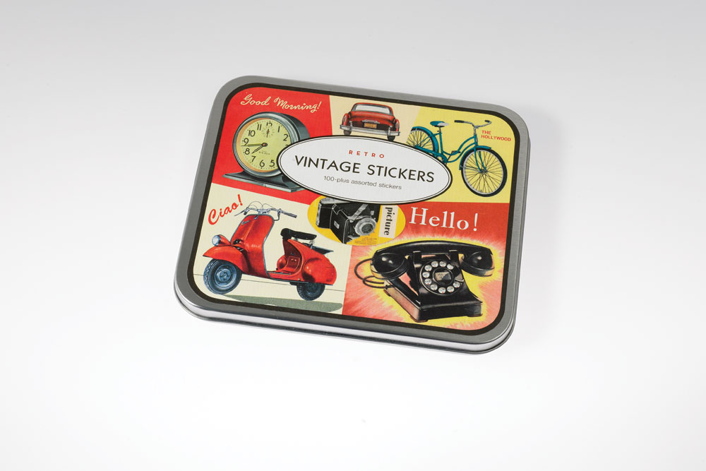 Retro Vintage Stickers