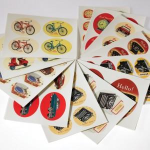 Retro Vintage Stickers