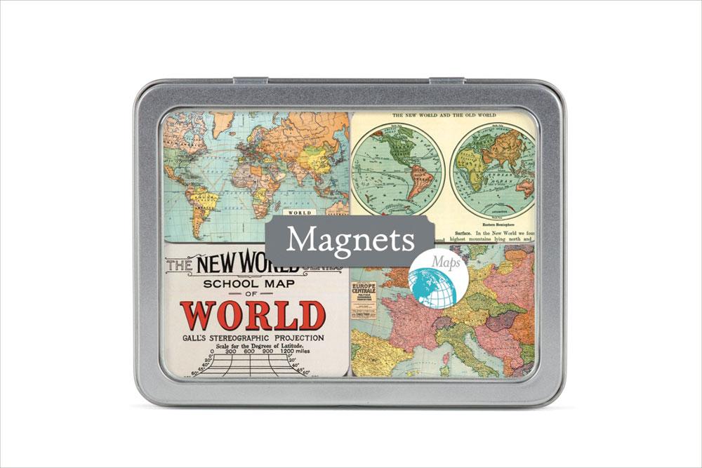 Vintage Maps Magnets
