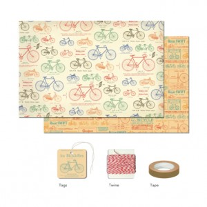 Vintage Bicycles Wrap Pack