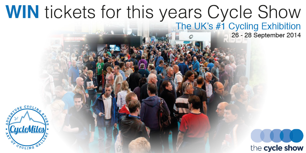 CycleMiles competition - 2 Free Tickets to the cycle show - NEC Birmingham