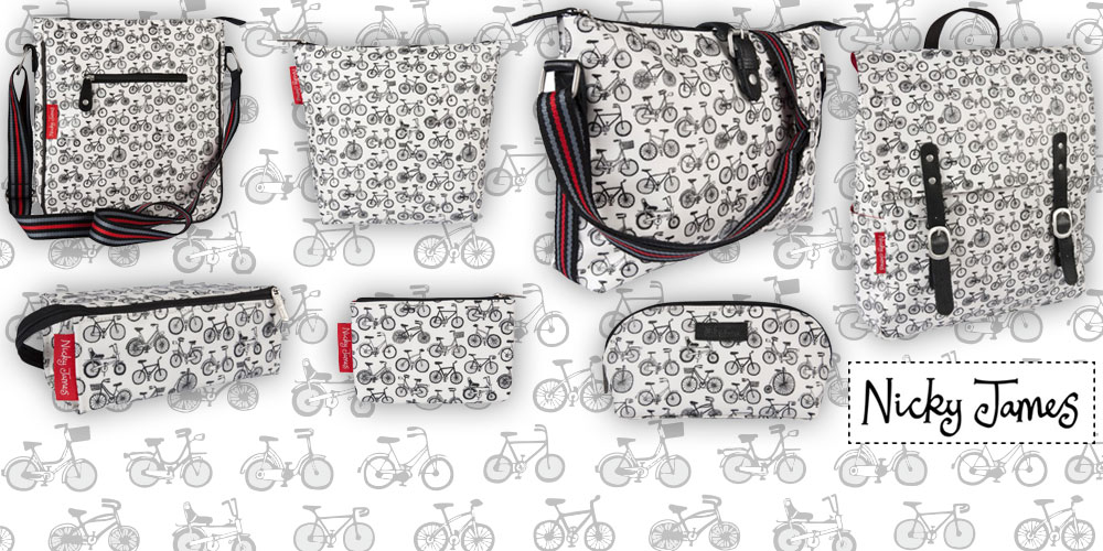 Nicky James Bicycle Bags