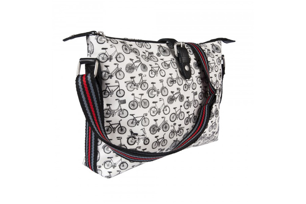 Nicky James Bicycle Crossbody Day Bag