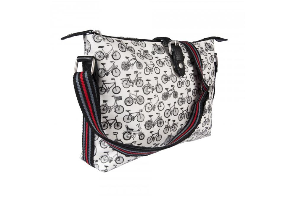 Nicky James Bicycle Crossbody Day Bag