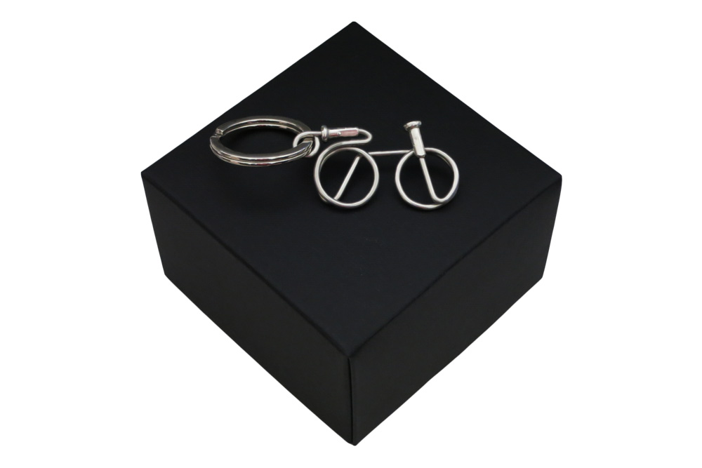 Respoke Bicycle Jewellery Bicycle Keyring