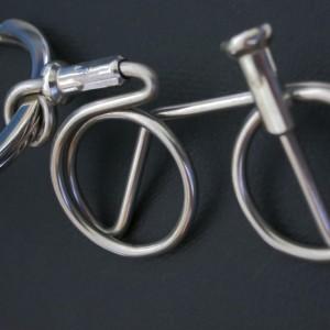 Respoke Bicycle Jewellery Bicycle Keyring