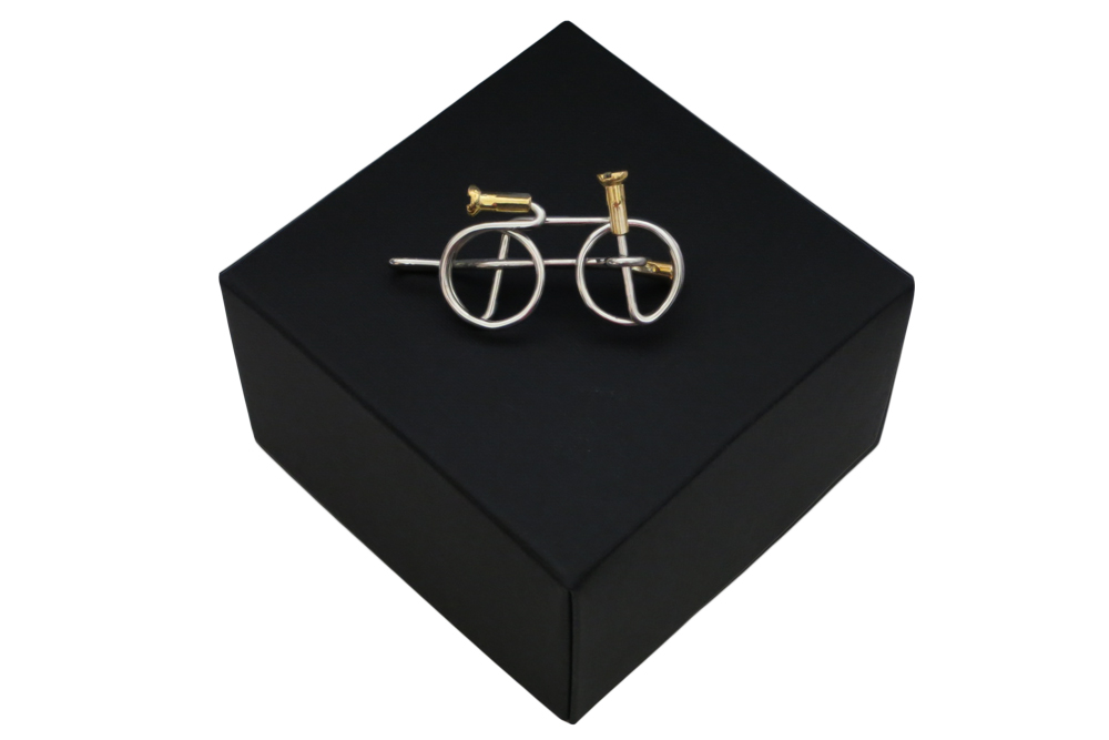 Respoke Bicycle Jewellery Bicycle Tie Clip