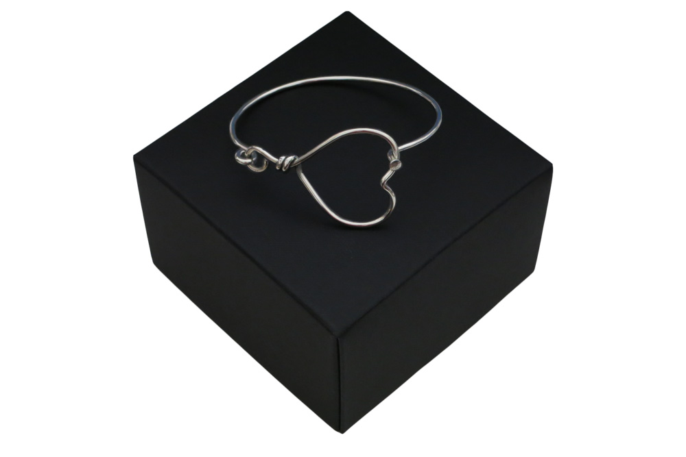 Respoke Bicycle Jewellery Heart Bracelet