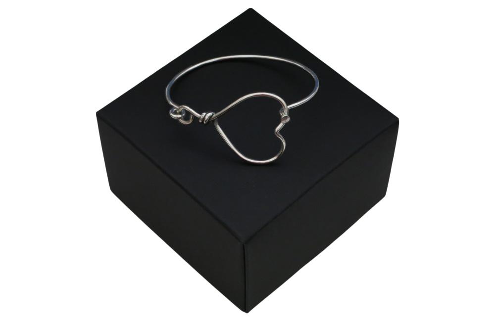 Respoke Bicycle Jewellery Heart Bracelet