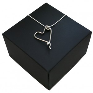 Respoke - Heart Necklace - Cycling Jewellery