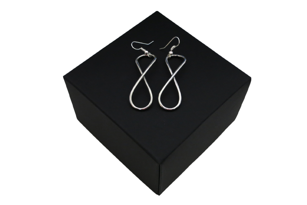 Respoke Bicycle Jewellery Infinity Earrings