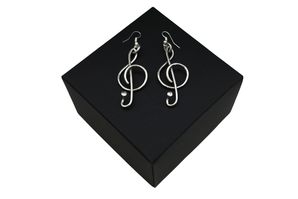 Respoke Bicycle Jewellery Music Earrings