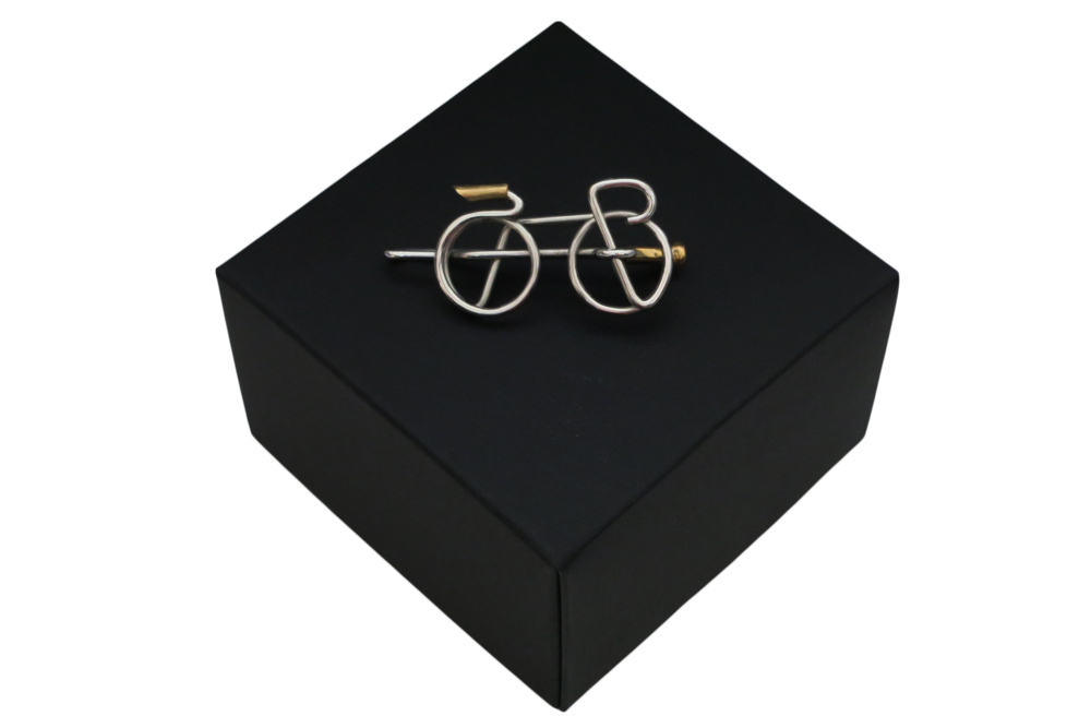 Respoke – Racing Bicycle Tie Pin  – Cycling Jewellery