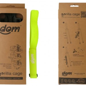 gorilla cage for bike packing, adventure cycling and cycle touring