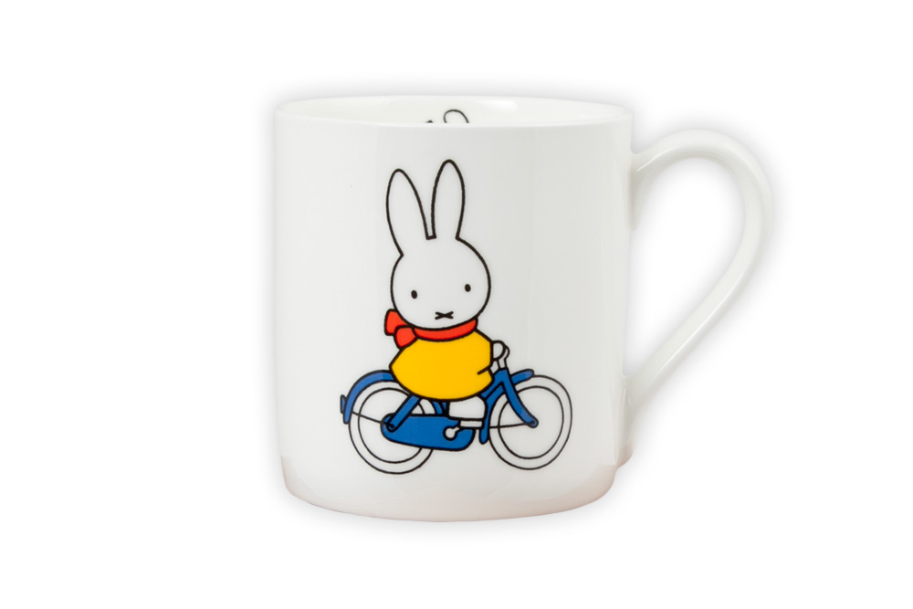 Miffy Bicycle Mug
