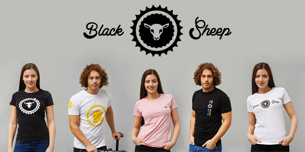 Black Sheep T Shirts Now in Stock at CycleMiles
