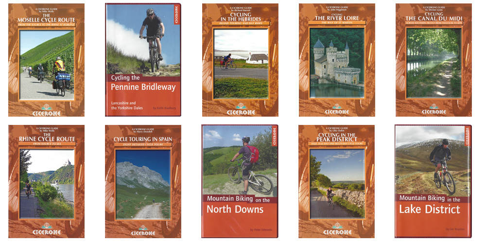 Cicerone Adventure Cycling Guide Books